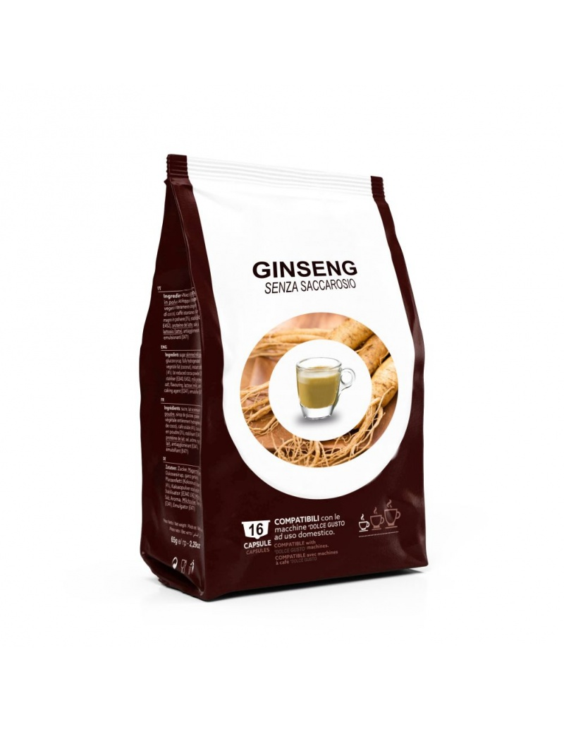 16 capsule compatibili Dolce Gusto Ginseng Light