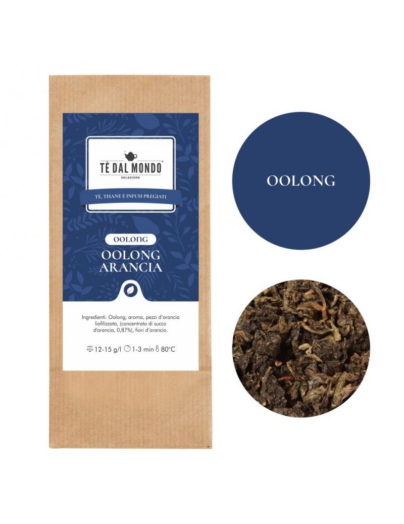 Tè Oolong in foglia Arancia