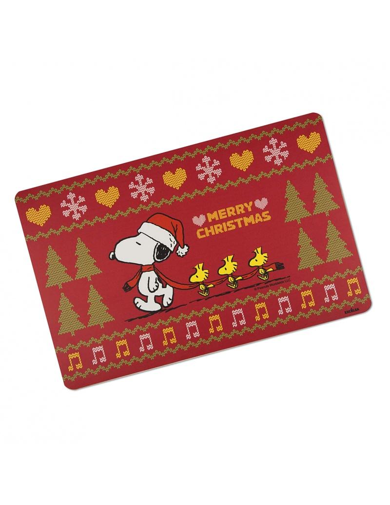 Tovaglietta snoopy natalizia