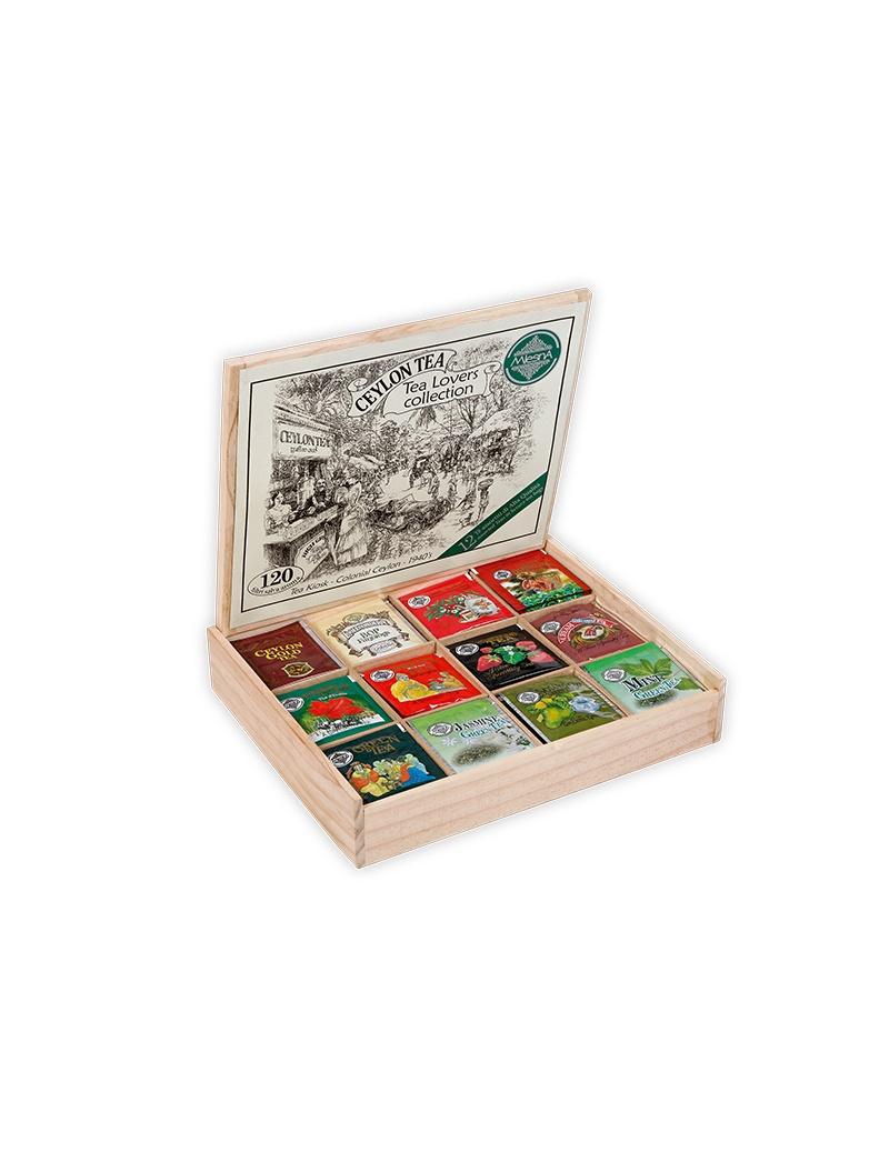 BOX LEGNO 120 FILTRI TEA...