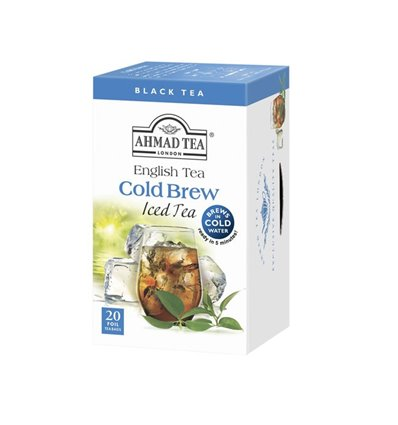 TE IN FILTRO ENGLISH TEA INFUSIONE A FREDDO
