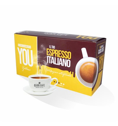 LINEA YOU YELLOW NESPRESSO 50 CAPSULE (5X10)