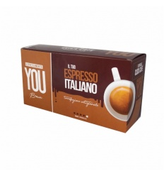LINEA YOU BROWN NESPRESSO 50 CAPSULE (5X10)