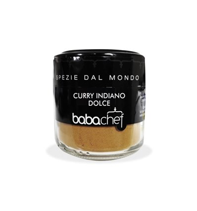 VASETTO CURRY INDIANO DOLCE40 GR