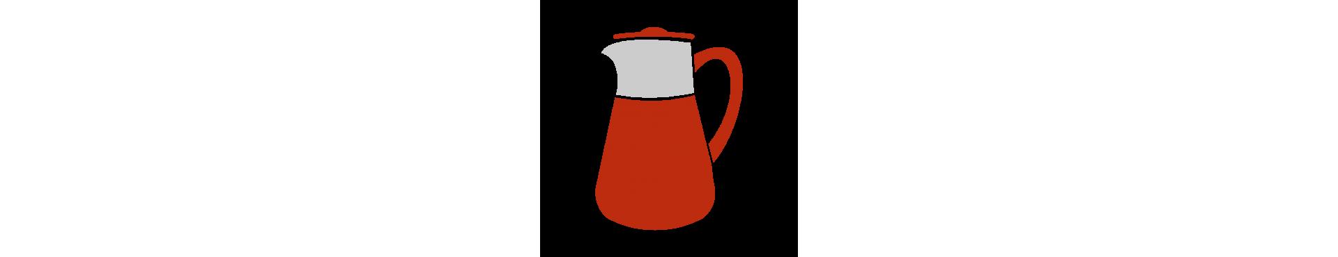 Tazze da tè e teiere in vetro Finum