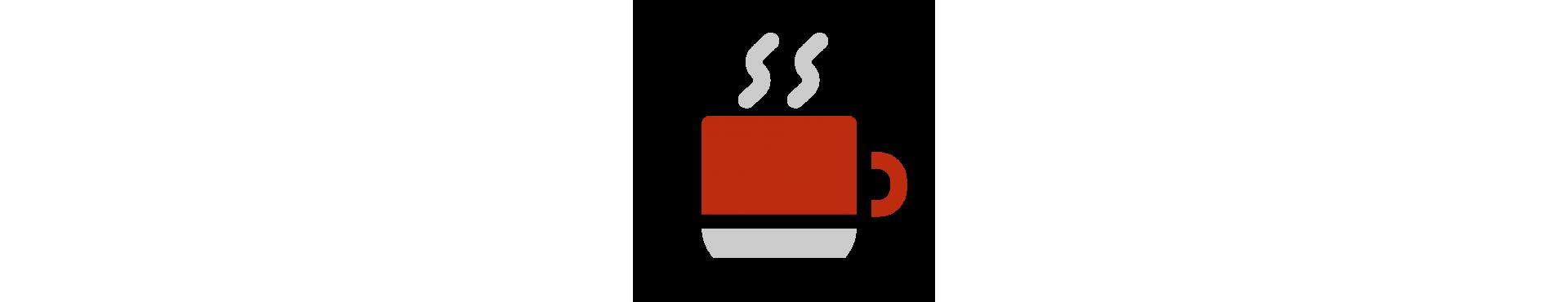 Tazzine da caffè e tazze mug